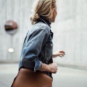BADGLEY MISCHKA Convertible Crossbody Saddle Bag